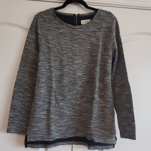 Black and Silver Top